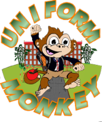 School uniforms, school attire, required clothes, uniform monkey, monkey uniforms