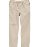 Boys Pants, Khaki (All Sizes - Final Sale)