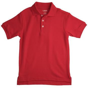 Unisex Short Sleeve Pique Polo (Stain Resistant Fabric)