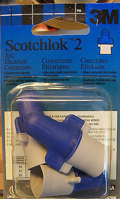 3M Scotchlok 2 B/G Electrical Connectors Lot of 50 Bulk Box