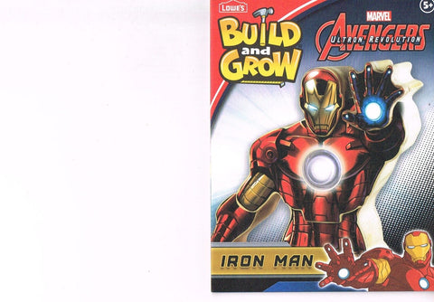 Lowes Build and Grow Iron Man Wood Kit