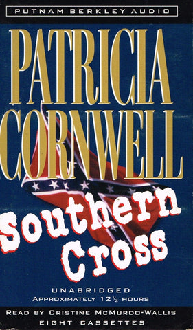 """Southern Cross"" Patricia Cornwell - UnAbridged Audio Cassettes"