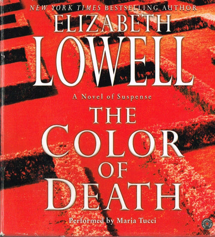 The Color of Death by Elizabeth Lowell (2004, CD, Abridged)