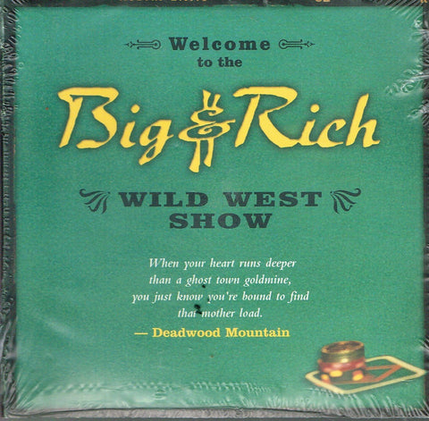 Big & Rich Wild West Show - TWO DISC SET 2-disc CD/DVD set USA promo PRESS KIT