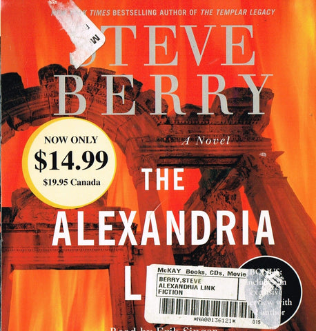 The Alexandria Link by Steve Berry (2007, Abridged, ...