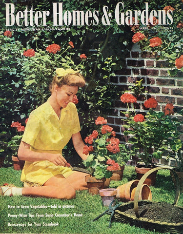BETTER HOMES AND GARDENS MAGAZINE APRIL 1944