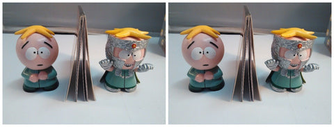 Lot 2 Sets South Park  Butters Vs. Professor Chaos (Mega Mini Kits) NEW Sealed