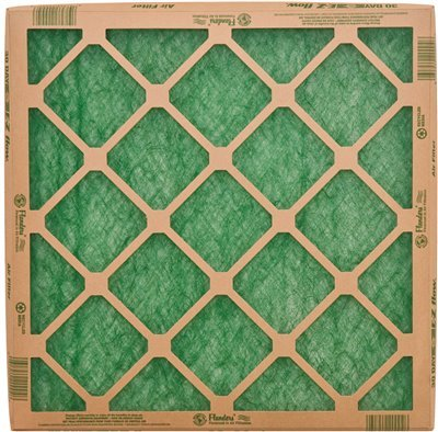 25x25x1 Nested Glass EZ-Green Filters 10059.012525 (24 Filters)
