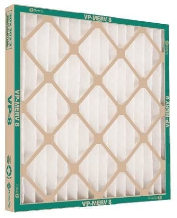 Flanders AAF Pleated Filter 24x25x1 Extended Surface Pleated Filter 80085.012425 (12 Filters)
