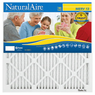 22x22x1 NaturalAire Healthy Ultra MERV 13 Filters (12 pack)