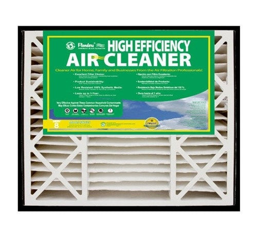 Flanders AAF Pleated Filter Space Gard 2200 & 2500 600SG Replacement Filters (2 Filters)
