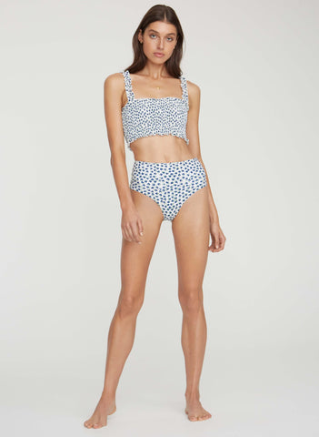 RAE FLORAL PRINT - BLUE - BETTINE BIKINI