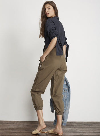 PLAIN KHAKI CANVAS - OMAN PANTS - FINAL SALE