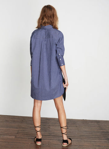 HUDSON STRIPE - PERRY SHIRT DRESS