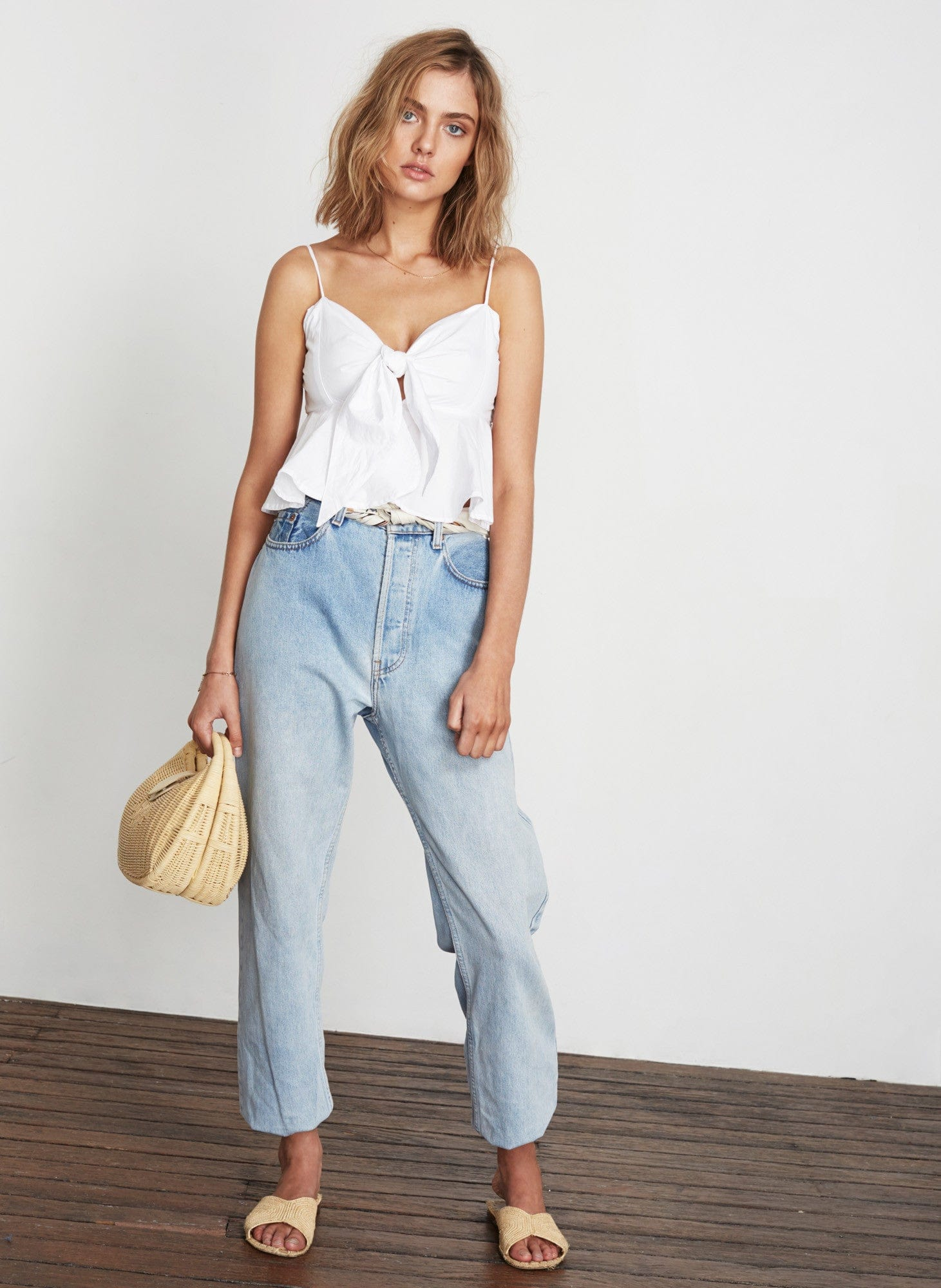 PLAIN WHITE - PINA COLADA TOP