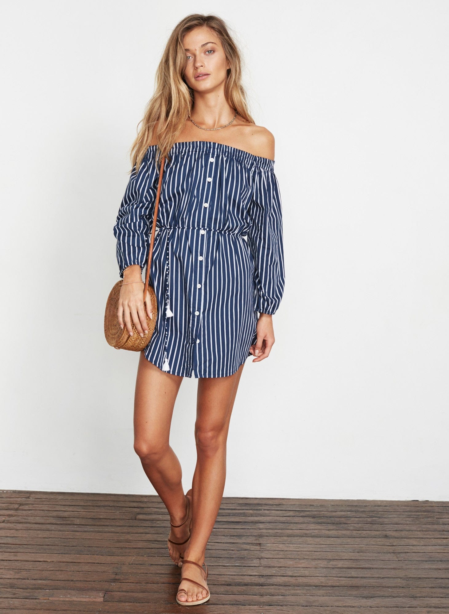 SIENNA STRIPE PRINT - EVE DRESS