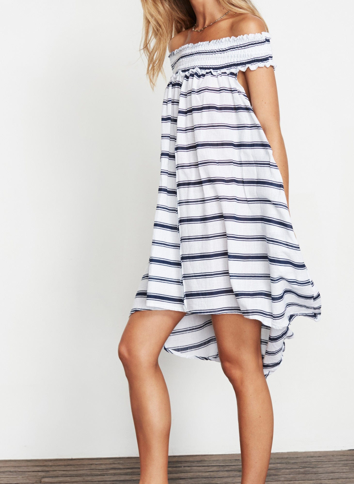 WAVES STRIPE DRESS - KAVA DRESS