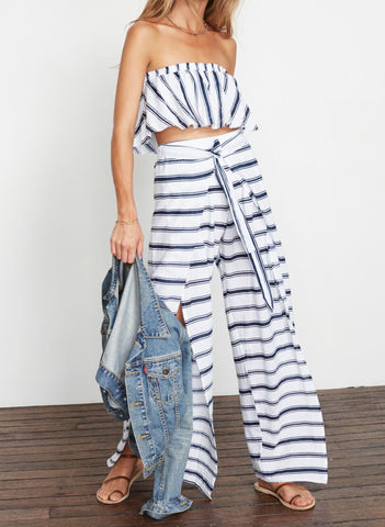 WAVES STRIPE PRINT - ES TORRENT PANT