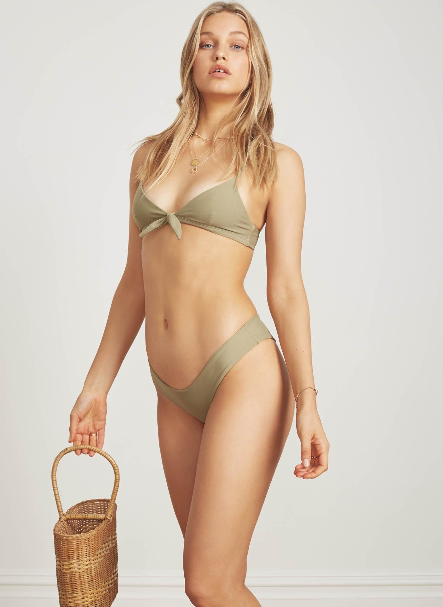 OLIVE - TAYLOR TOP