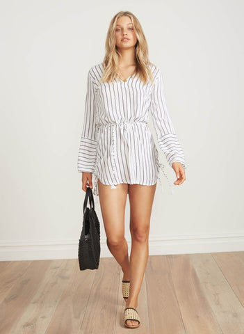 LAMBERT STRIPE PRINT - NEROLI DRESS