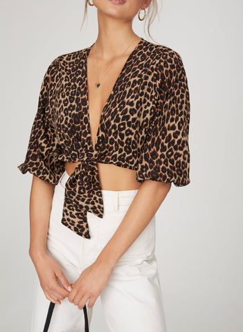 PRIMITIVE PRINT - LA GUARDIA TOP - FINAL SALE
