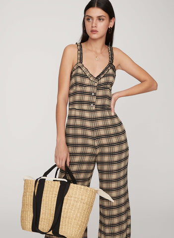 HILLARY PRINT - CANCUN JUMPSUIT - FINAL SALE
