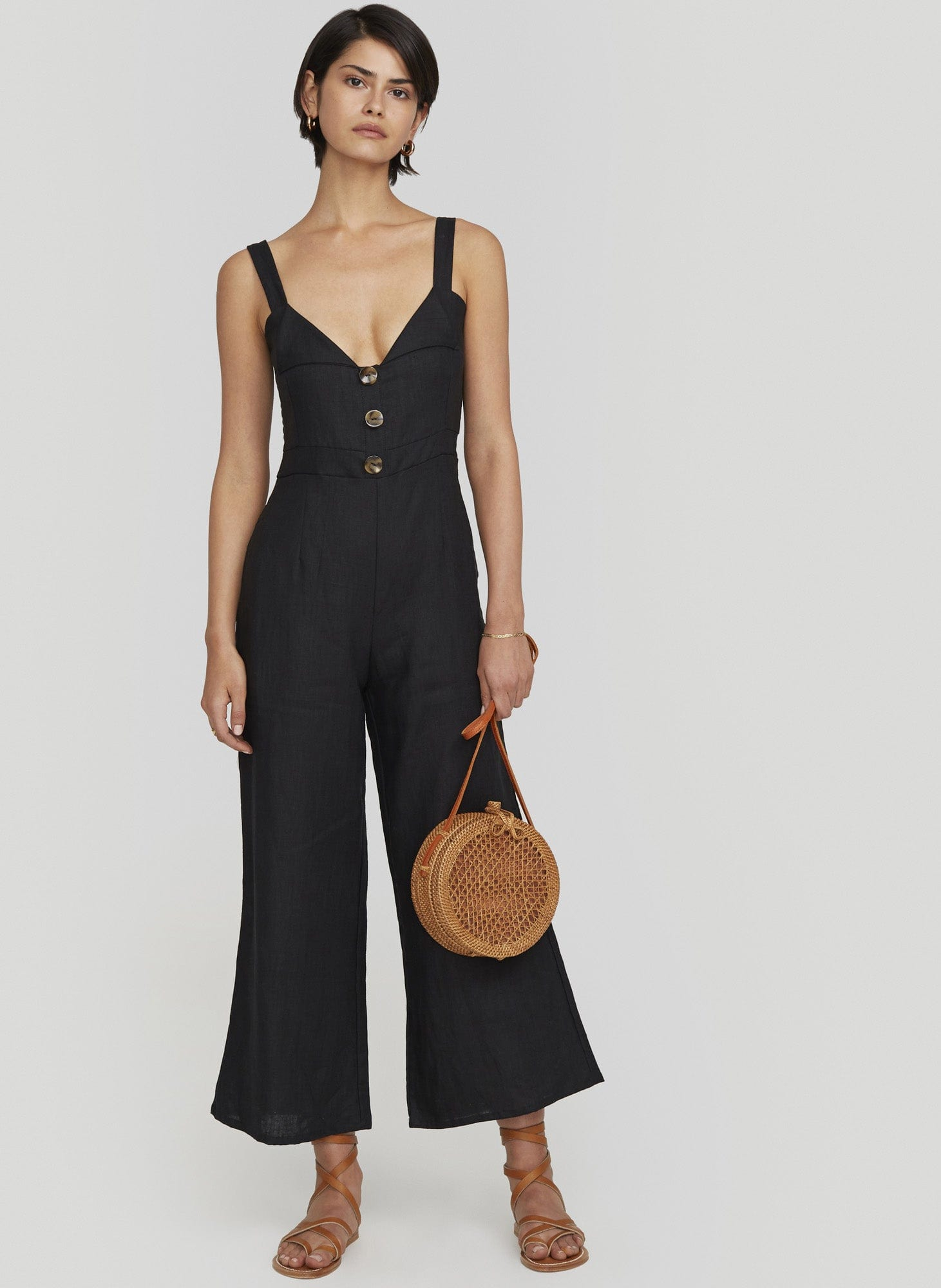 Plain Black - Scout Jumpsuit - Final Sale