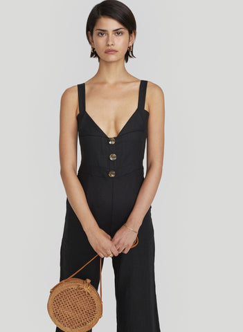 PLAIN BLACK - SCOUT JUMPSUIT