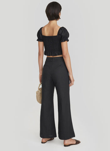 PLAIN BLACK - ADITA PANTS