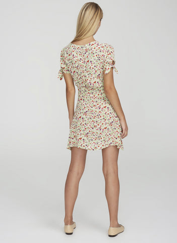 BASTILLE FLORAL PRINT - MARIANNE MINI DRESS