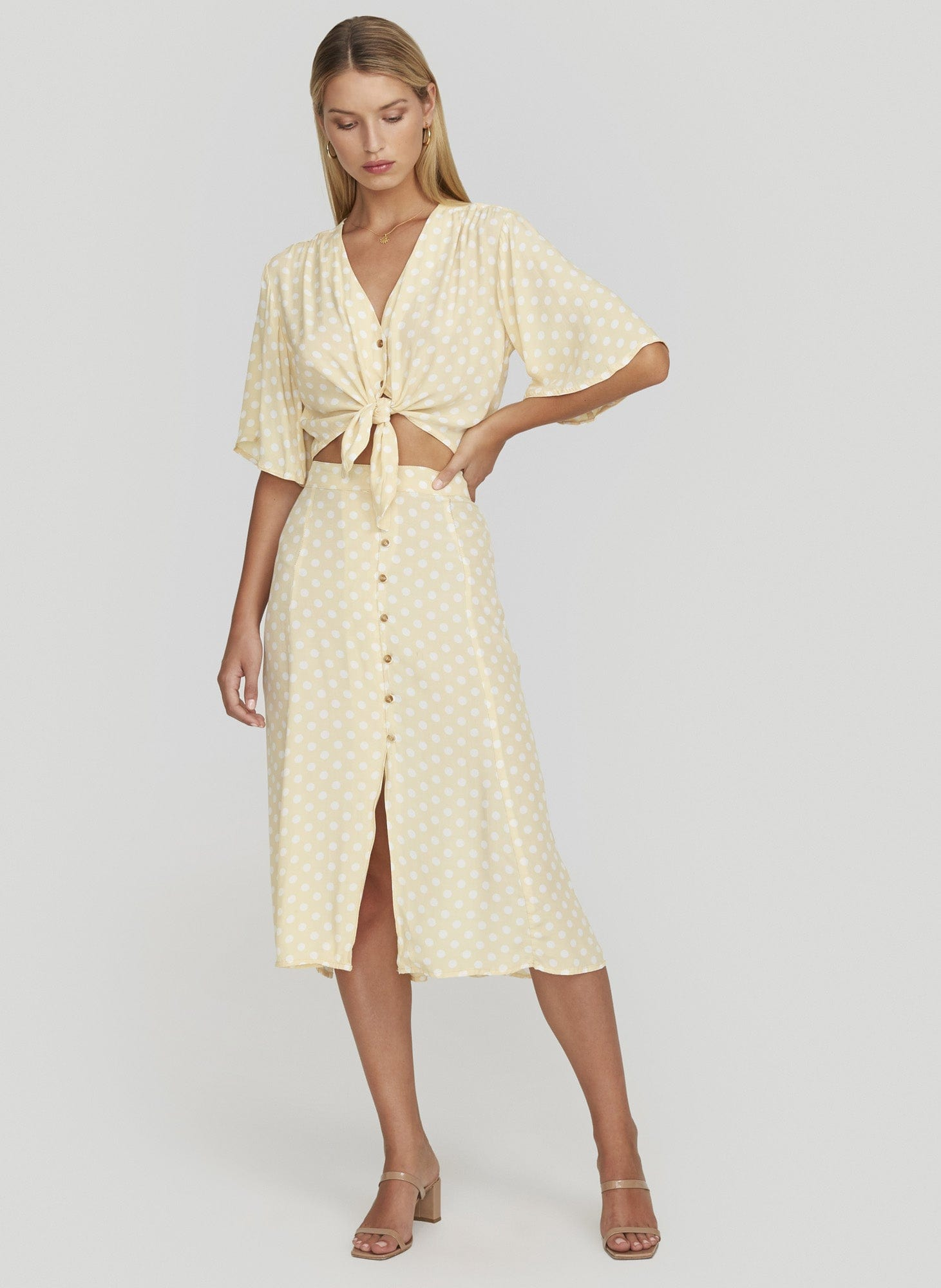 LE MARAIS DOT - LEMON - MARIN SKIRT