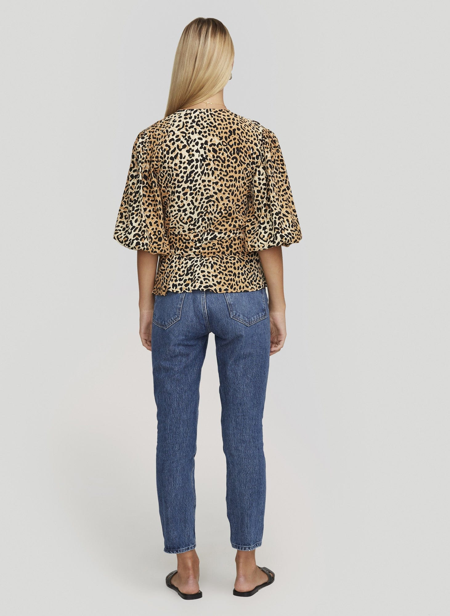 LE CINQ ANIMAL PRINT - LAVENDER TOP