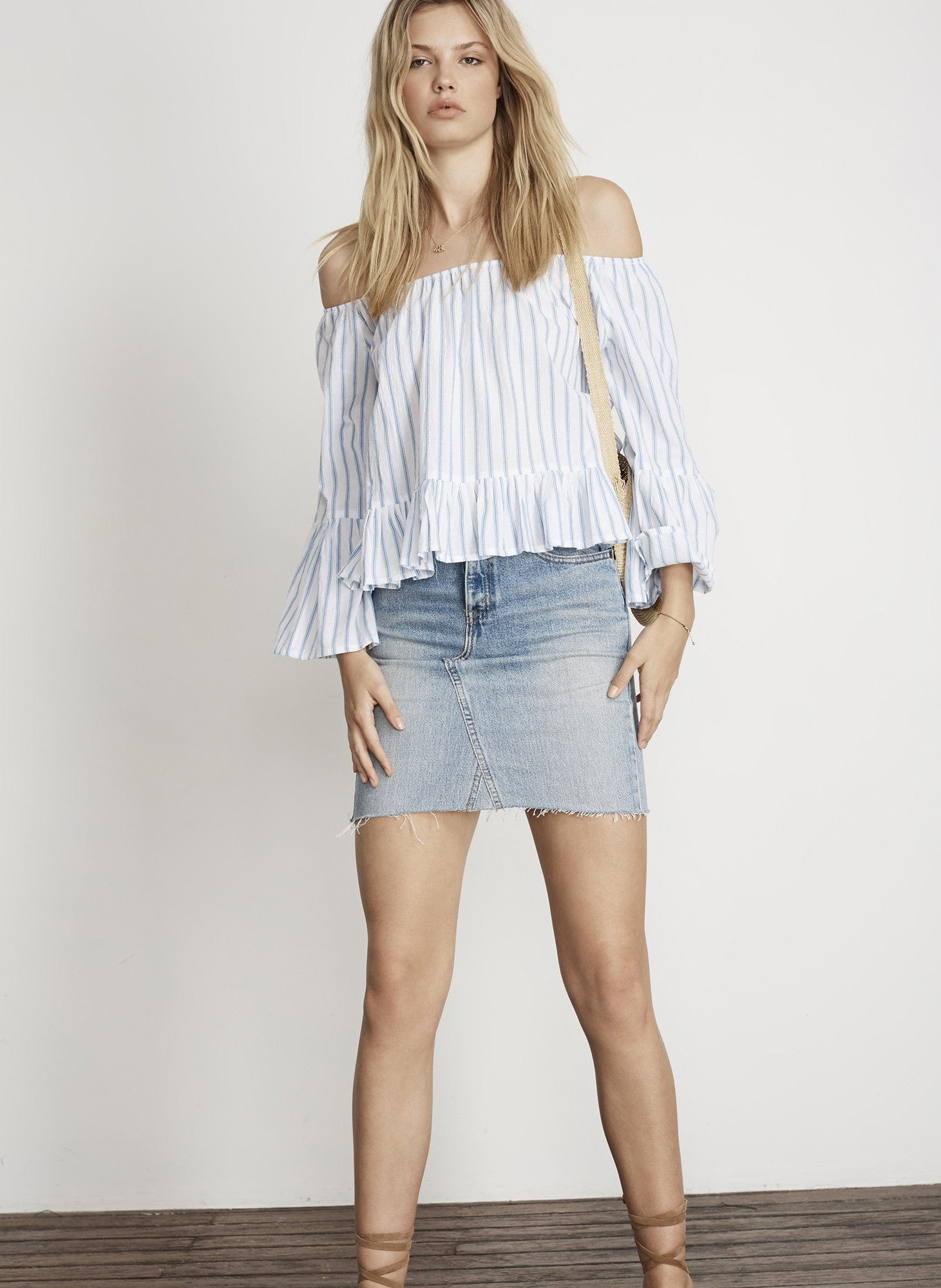 PALLAIS STRIPE PRINT - GALLE TOP - FINAL SALE