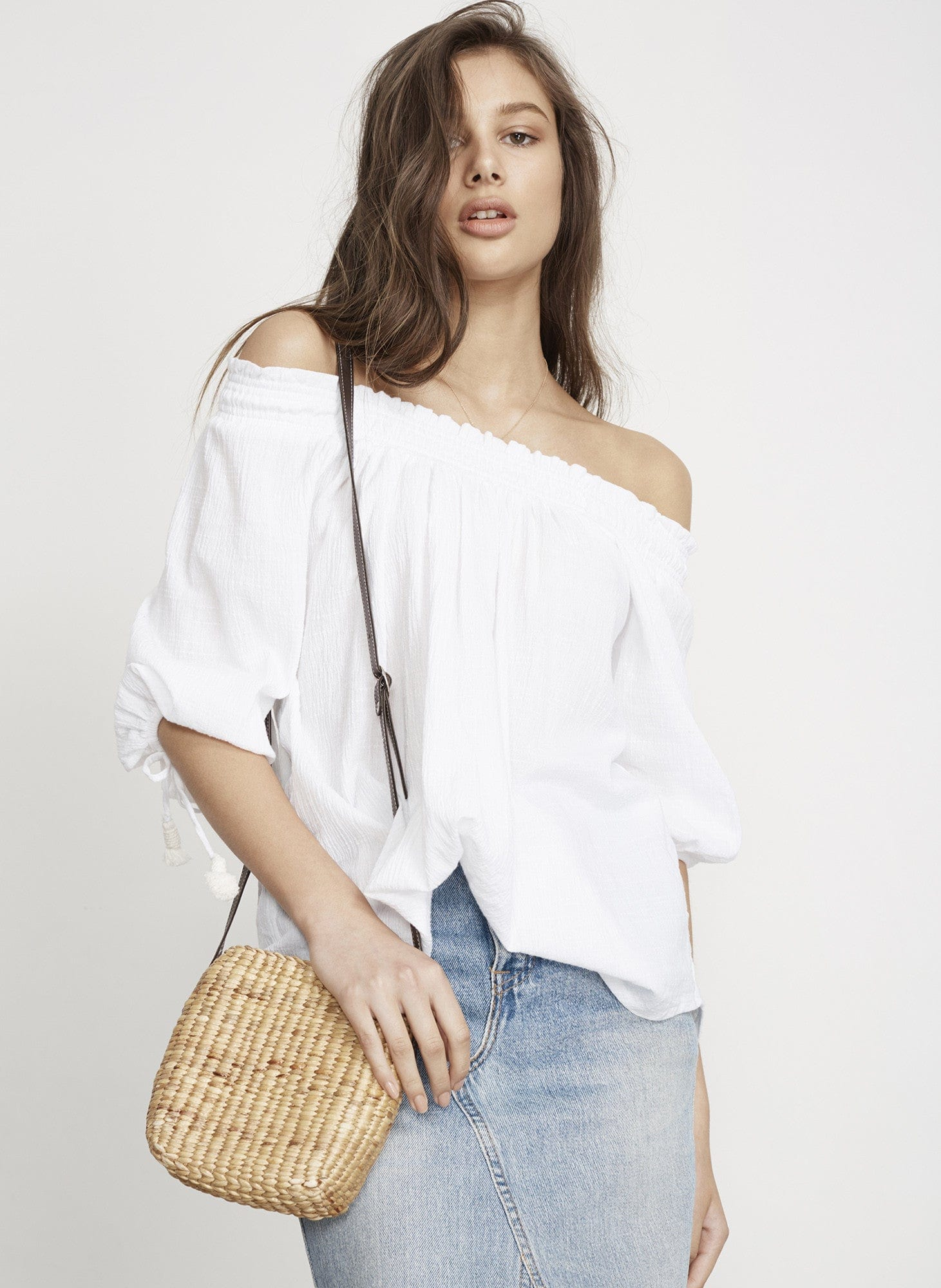PLAIN WHITE - SANDS TOP - FINAL SALE