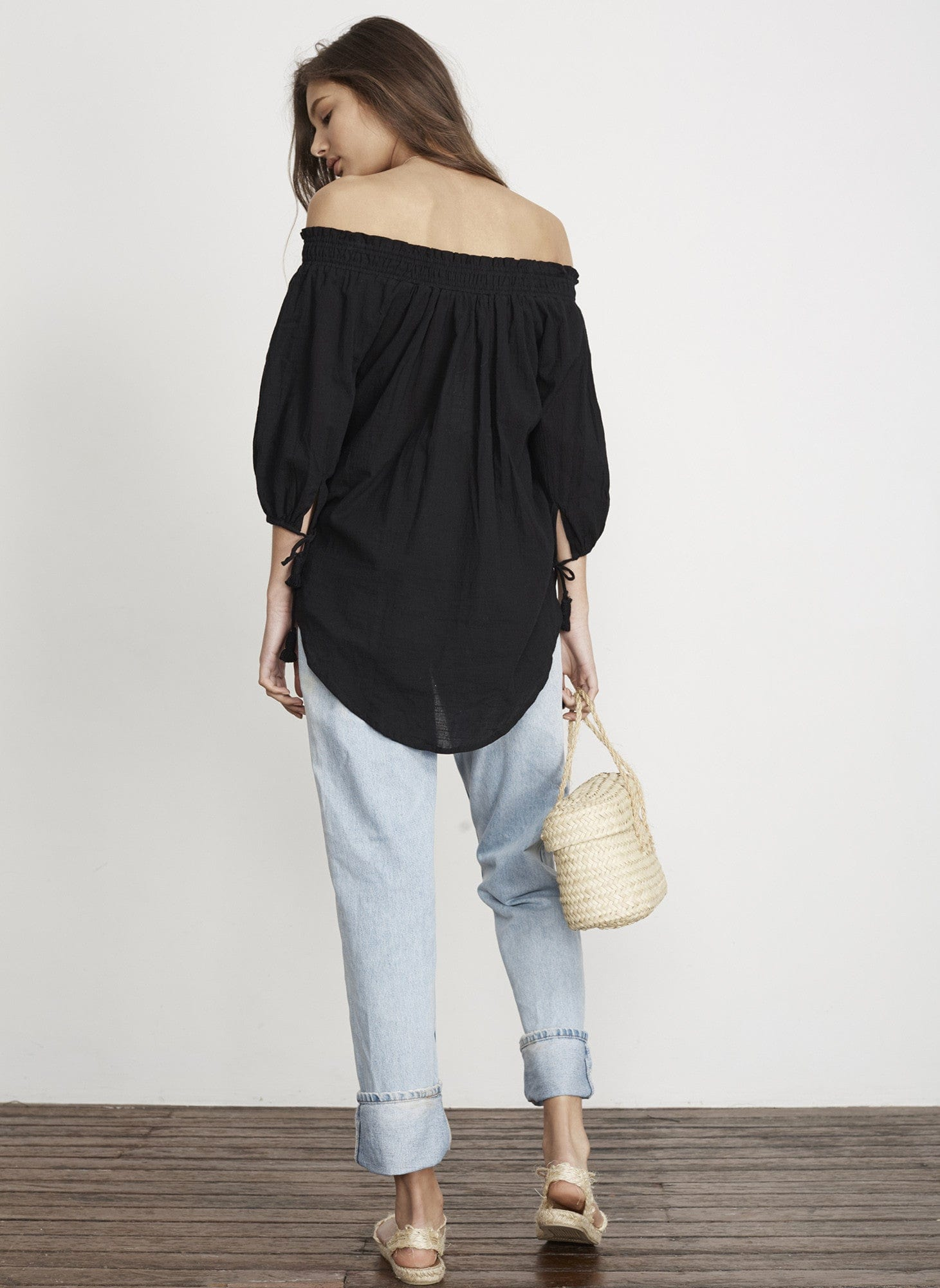 PLAIN BLACK - SANDS TOP