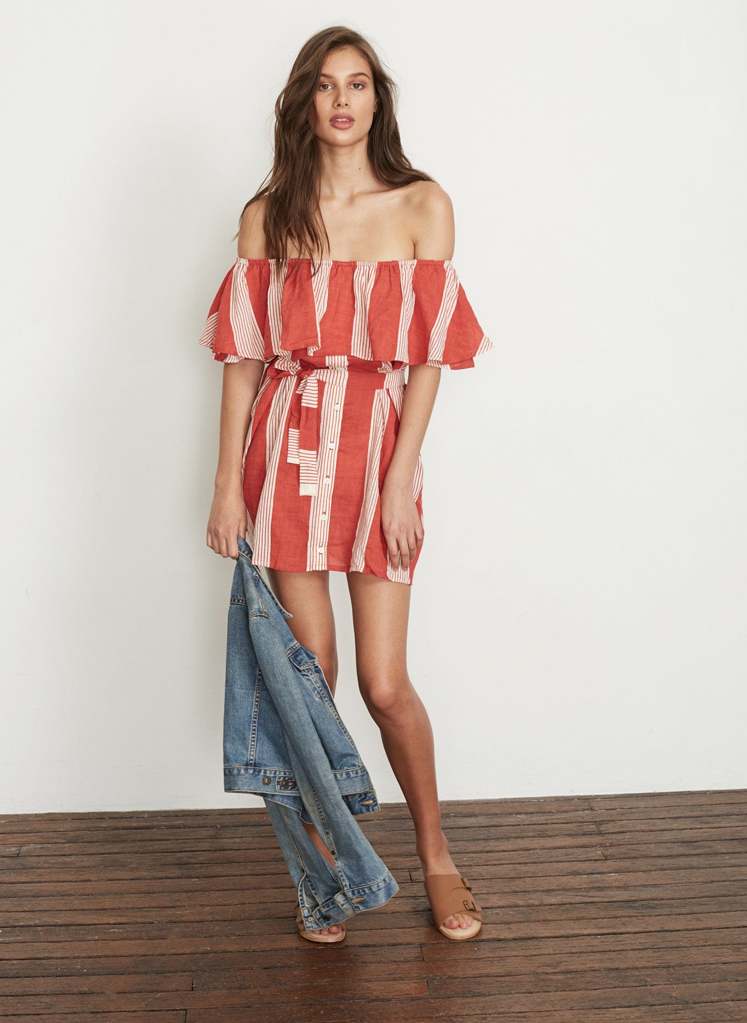 PICNIC STRIPE PRINT - AMALFI DRESS