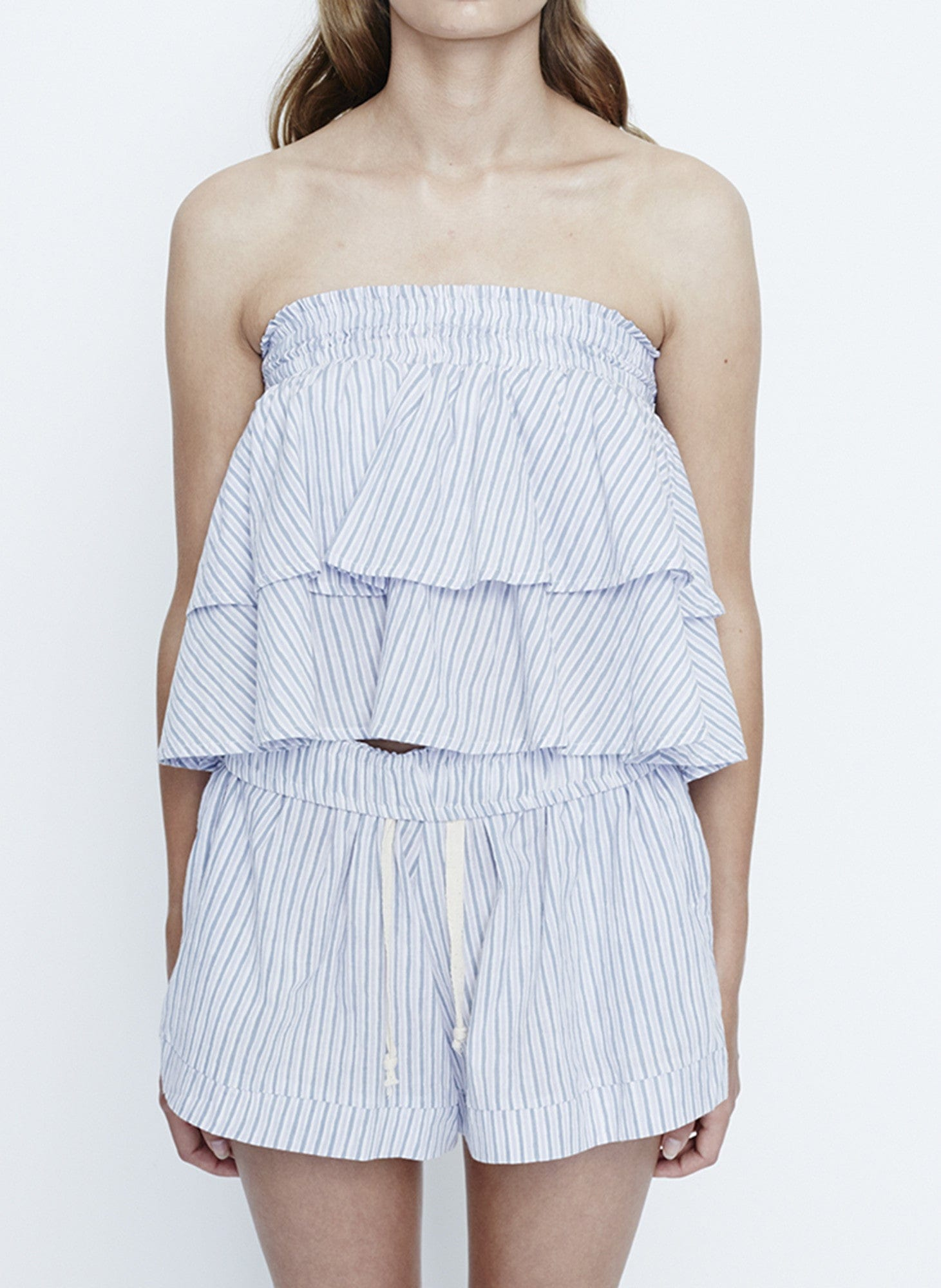 OCEANSIDE STRIPE PRINT - PARADISO TOP