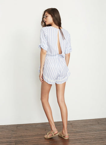 ALL STAR STRIPE PRINT - SUNKISSED PLAYSUIT