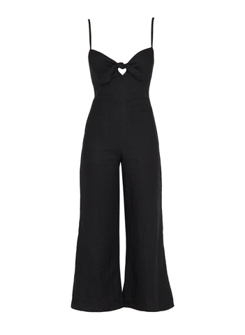 PLAIN BLACK - PRESLEY JUMPSUIT