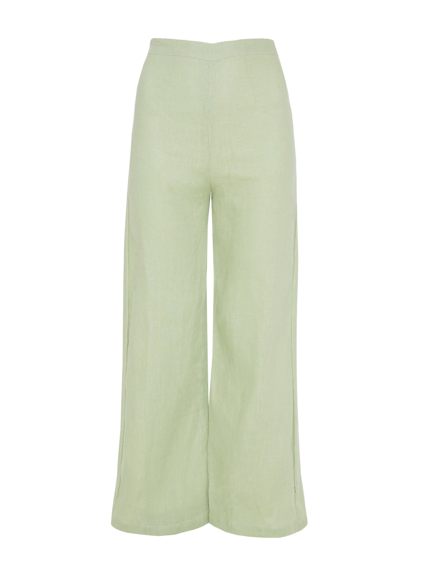 PLAIN WASHED LIME - SCELSI PANT