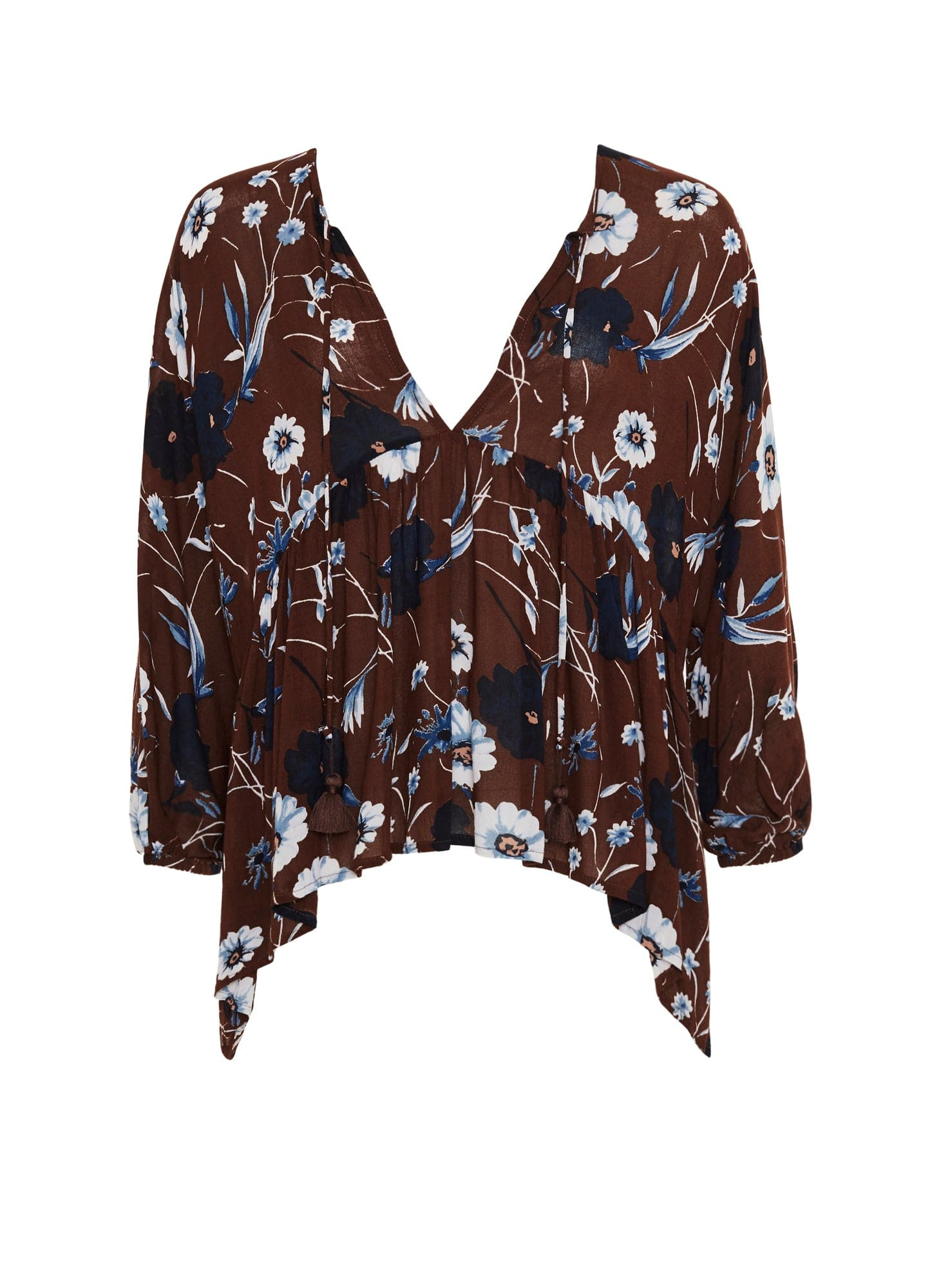 ABERDEEN FLORAL PRINT - PALM BEACH TOP - FINAL SALE