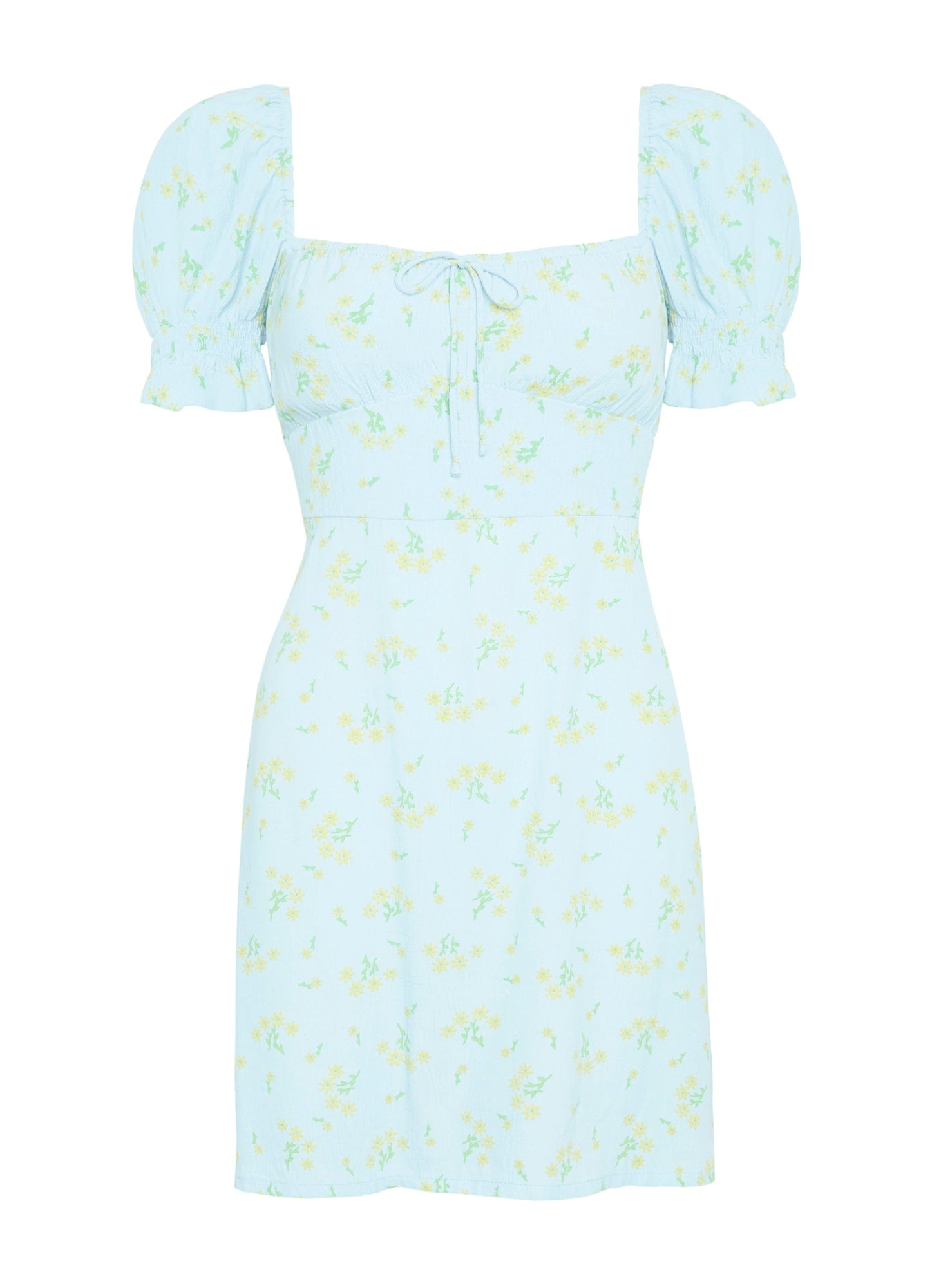 DARIA FLORAL PRINT - IRIS MINI DRESS
