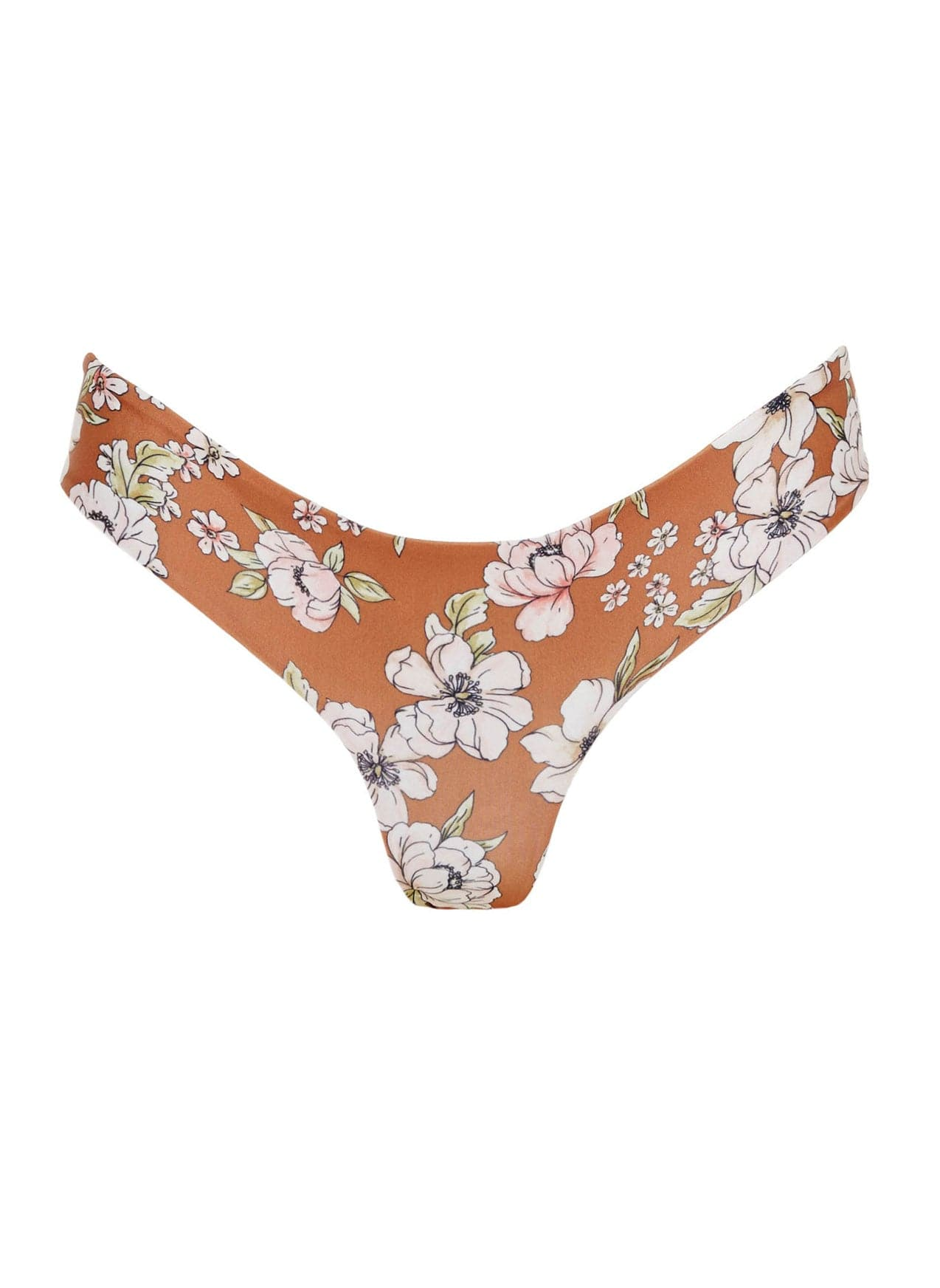 CECIL ROSE PRINT - CARA BOTTOM - FINAL SALE