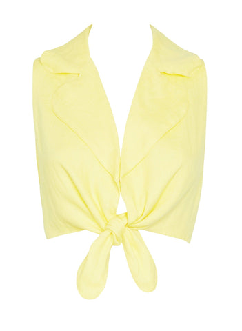 PLAIN LEMON - FERNANDA TOP
