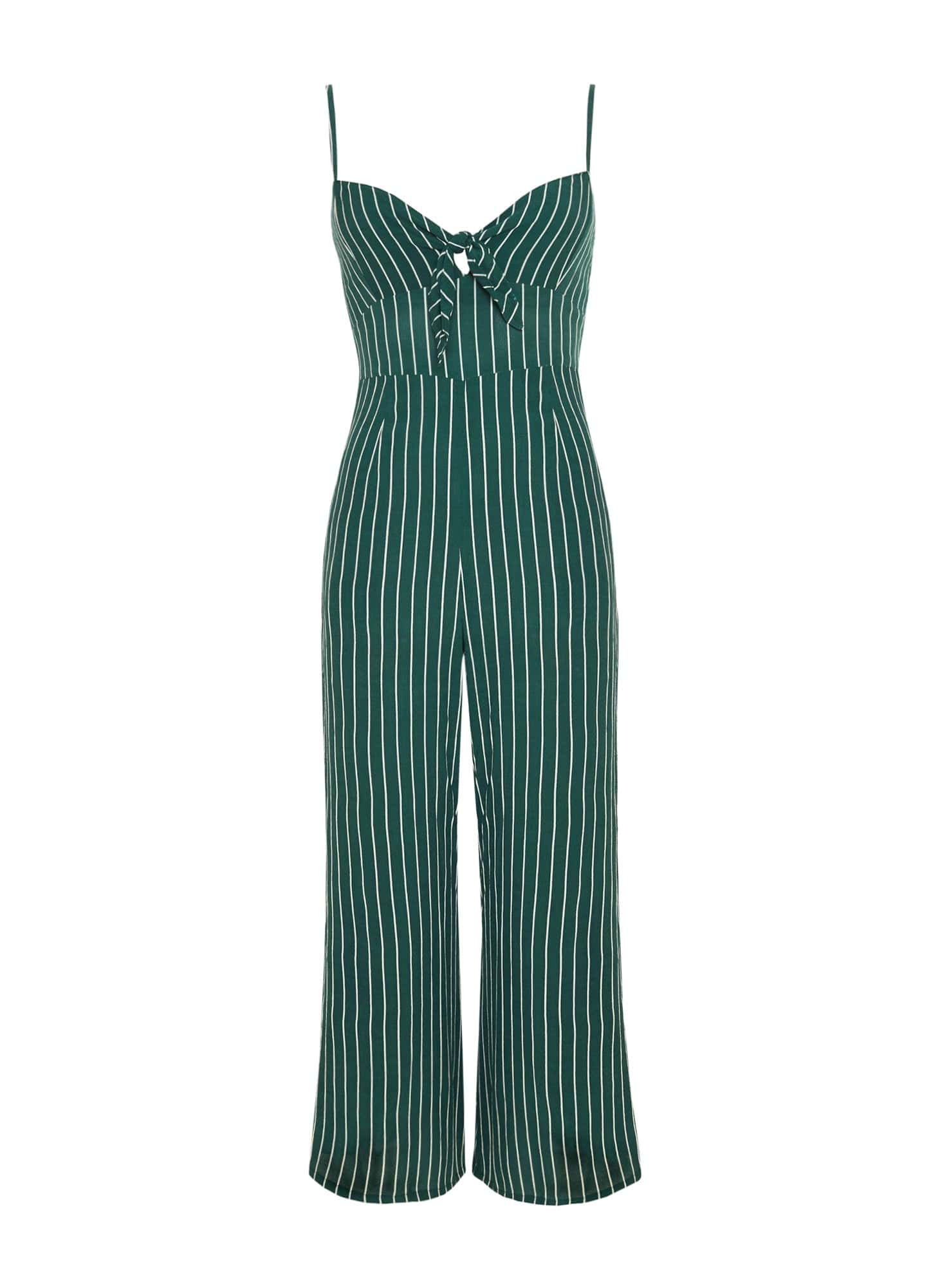 PASEO STRIPE PRINT - PRESLEY JUMPSUIT - FINAL SALE
