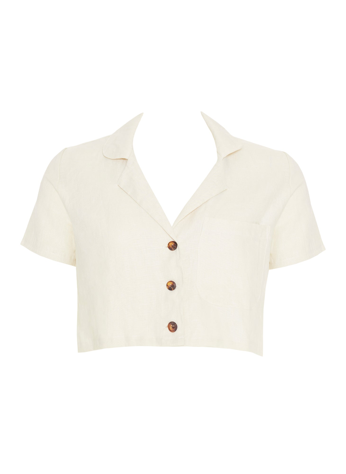 PLAIN CREAM - UMA SHIRT