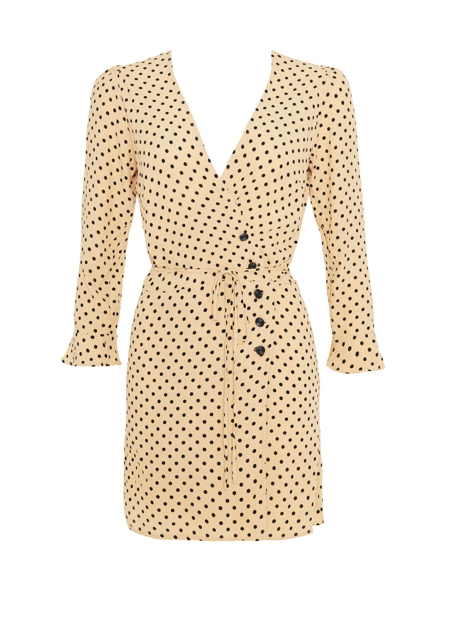 LULA DOT PRINT - GRETA DRESS