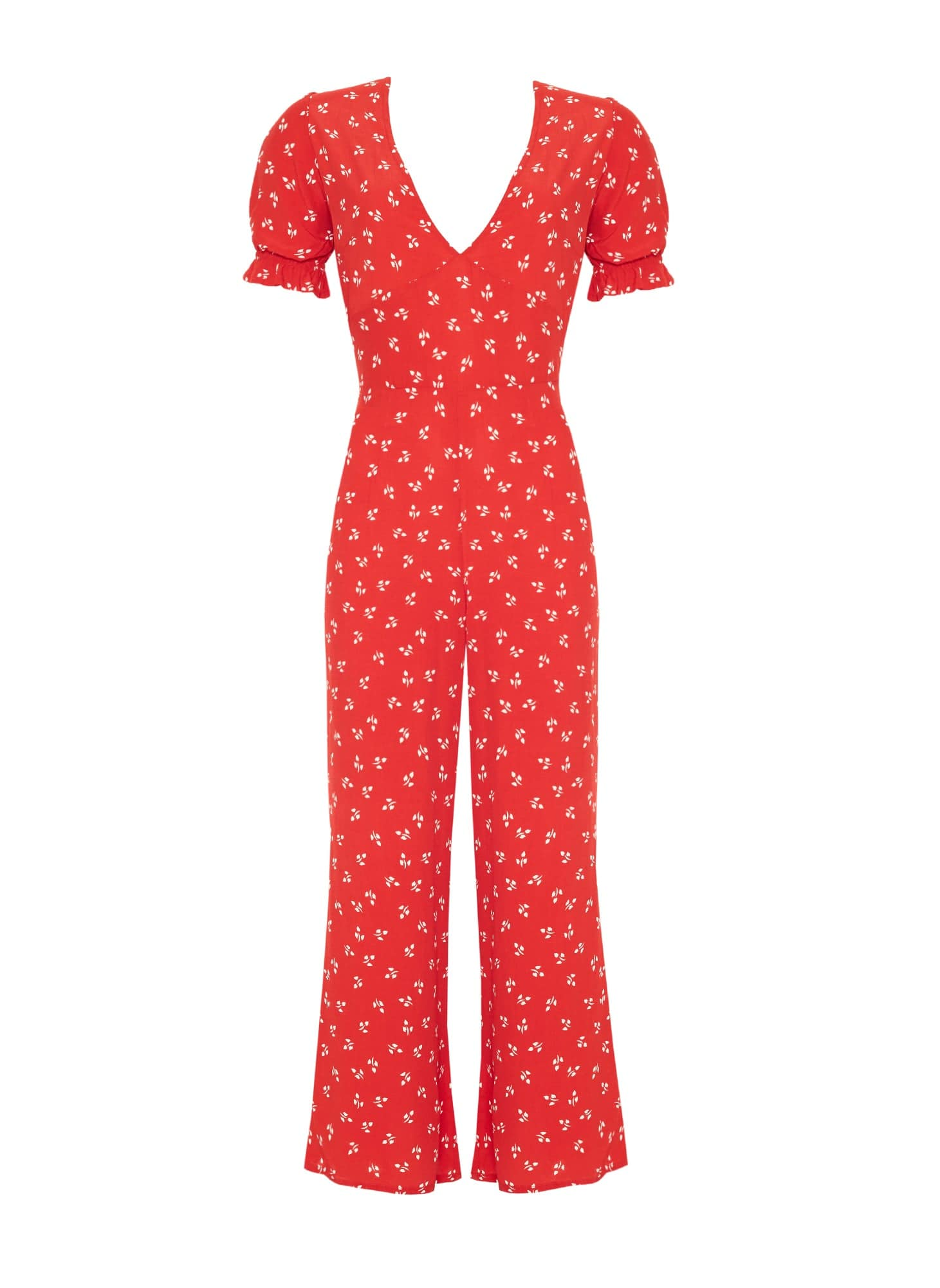 JEANNE PRINT - CHERRY - MALLORY JUMPSUIT