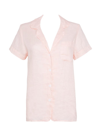 PLAIN PALE PINK - MAISY SHIRT