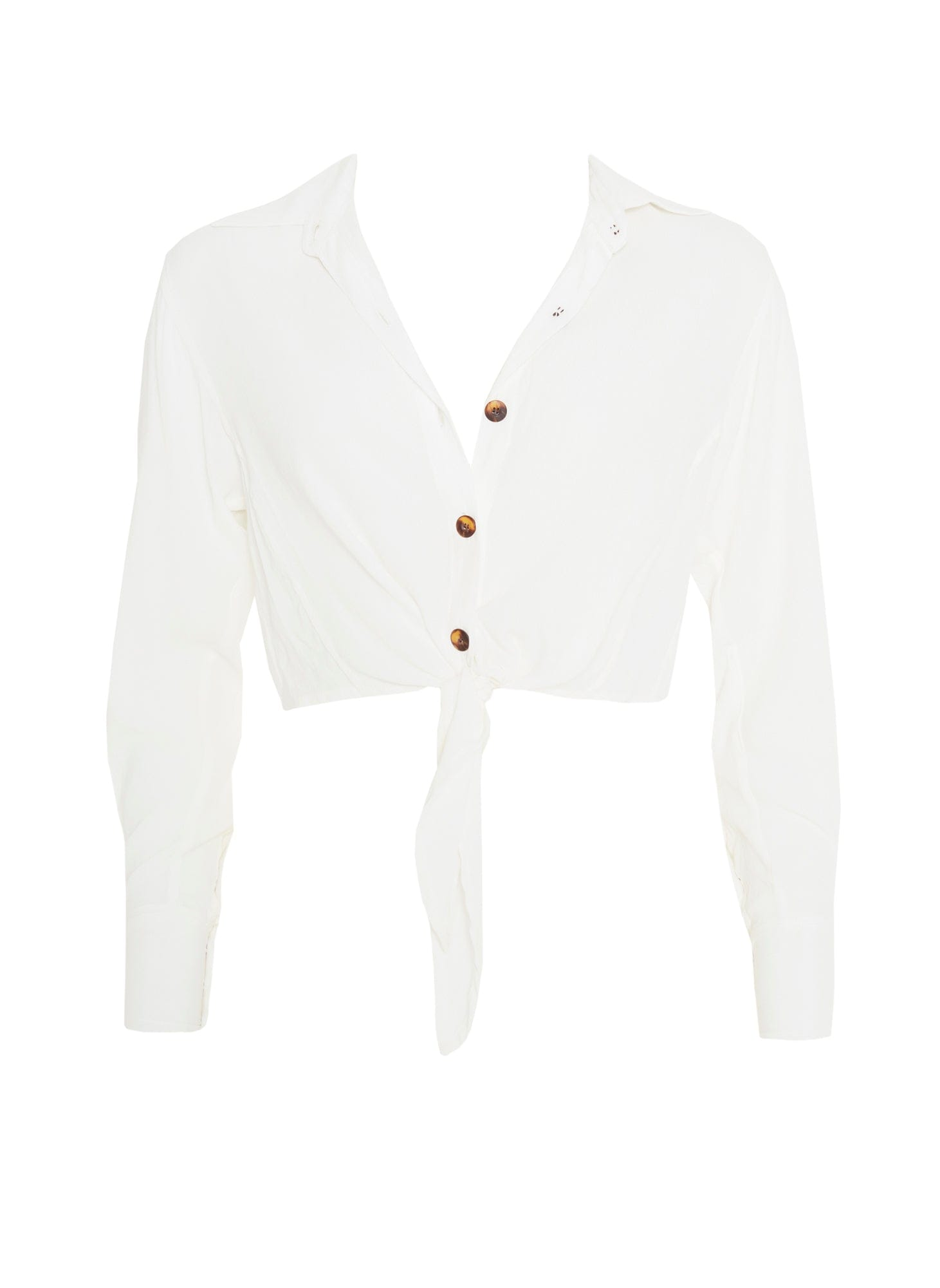 PLAIN WHITE - BEAU RIVAGE SHIRT